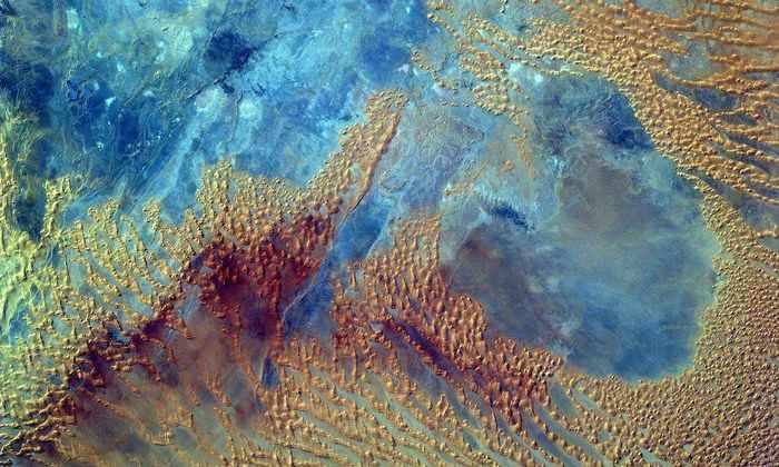 Изображение дня: вид на пустыню Сахара с МКС