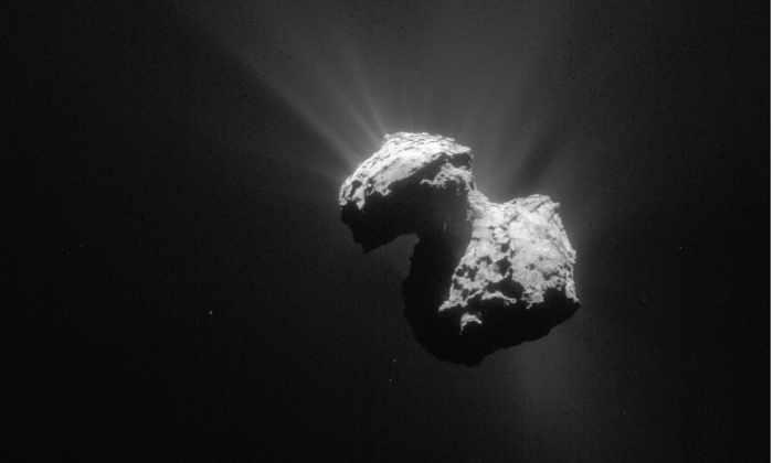 Ученые смоделировали формирование кометы Чурюмова-Герасименко