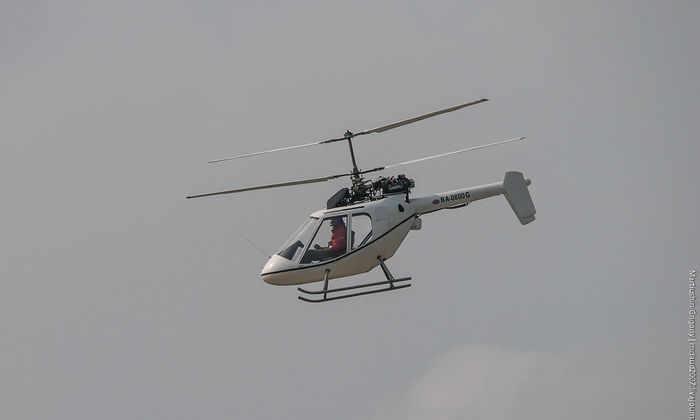 В России разработан самый компактный в мире вертолет