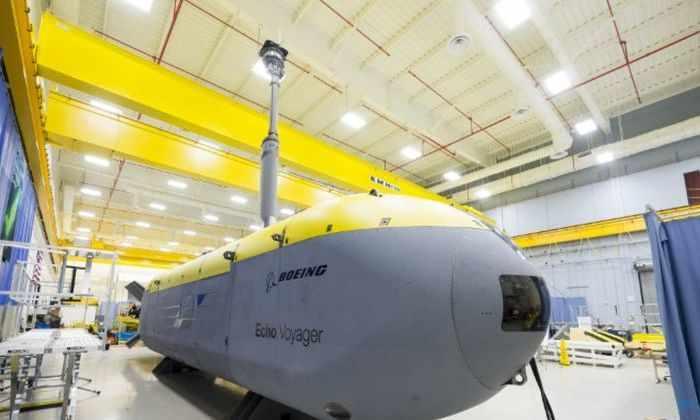 Автономный батискаф Boeing способен пребывать под водой много месяцев