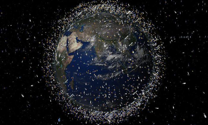 США оценили количество космического мусора на орбите