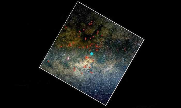 В ядре Млечного Пути обнаружена новая группа звезд