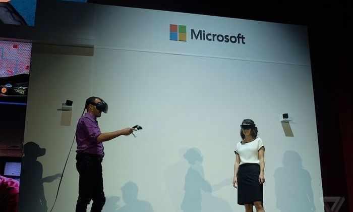 Демо-видео: голографическая ОС Microsoft для VR-гарнитур