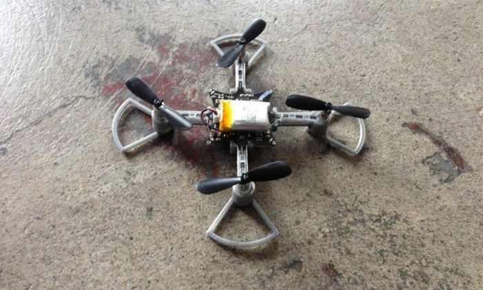Кибер-ружье против дронов показали в действии