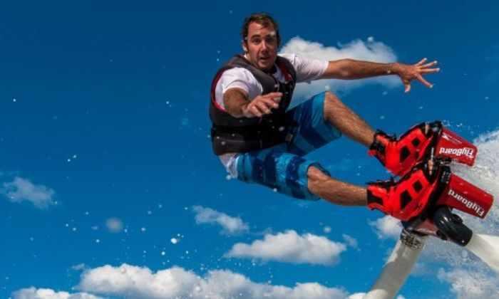 Полет Френки Запата на FlyBoard Air попал в Книгу рекордов Гиннеса