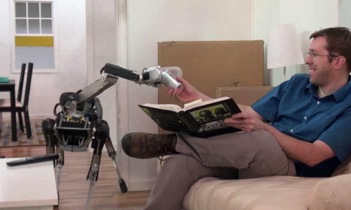 Видео: робот-пес сделает самые неприятные домашние дела за вас