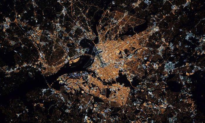НАСА опубликовало снимки Вашингтона из космоса на инаугурацию Трампа