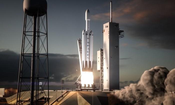 Маск показал, как три ступени самой мощной в мире ракеты по очереди вернутся на Землю