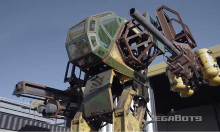 Войны будущего. Как победить гигантского робота?