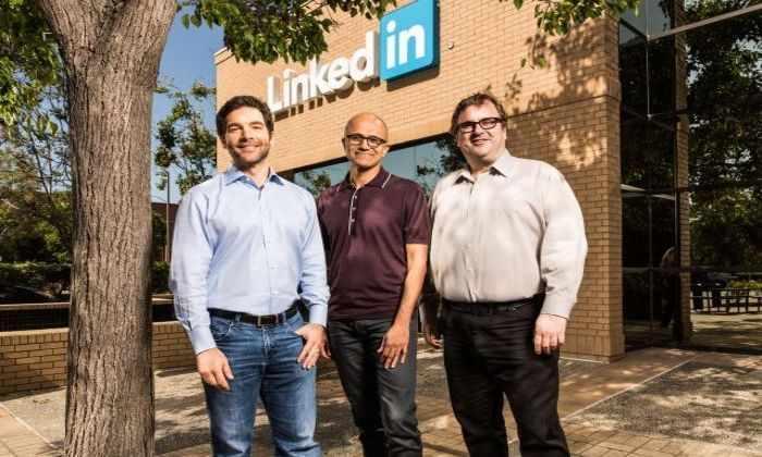 Microsoft покупает LinkedIn за 26,2$ миллиардов