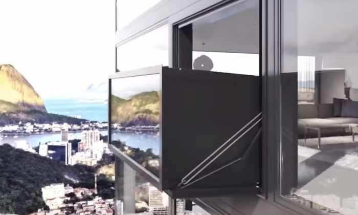 Видео: окно, за секунды превращающееся в балкон, появится в Амстердаме