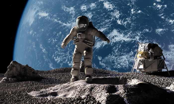 Российские эксперты работают над созданием специальных лунных скафандров