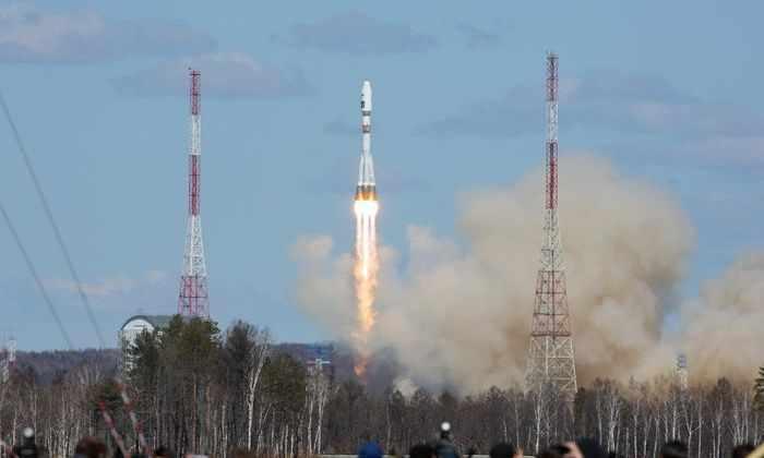 С космодрома Восточный успешно стартовала первая в истории ракета