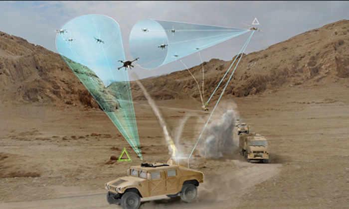 Американское оборонное исследовательское агентство ищет новые идеи для защиты от атак дронов