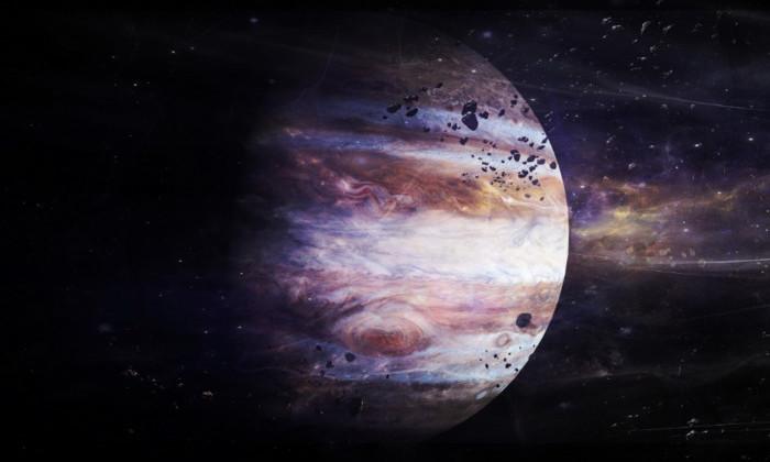 Южный полюс Юпитера засняли вблизи. Он гипнотический