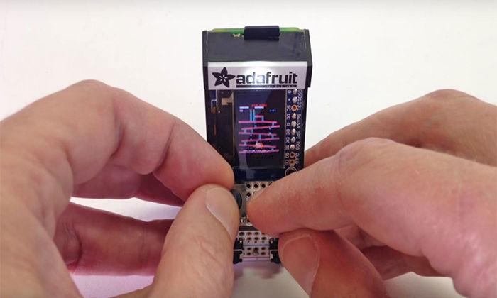 Самый маленький в мире игровой автомат